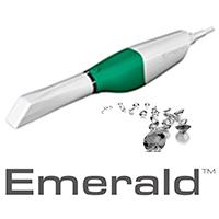 Emerald scanner med logo